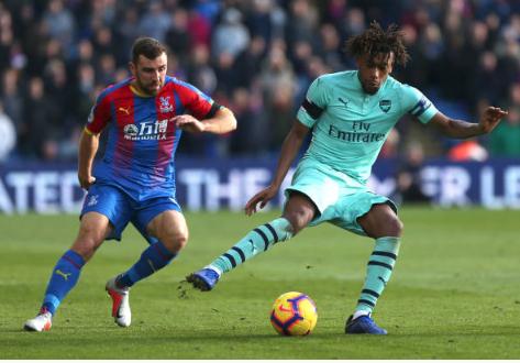 Hasil Liga Inggris: Crystal Palace vs Arsenal 2-2