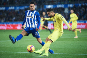Hasil Liga Spanyol: Deportivo Alaves vs Villareal 2-1