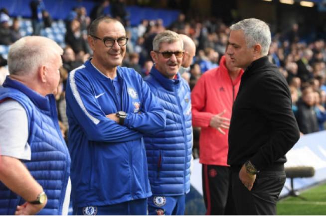 Jose Mourinho : Asisten Pelatih Maurizio Sarri Sudah Minta Maaf