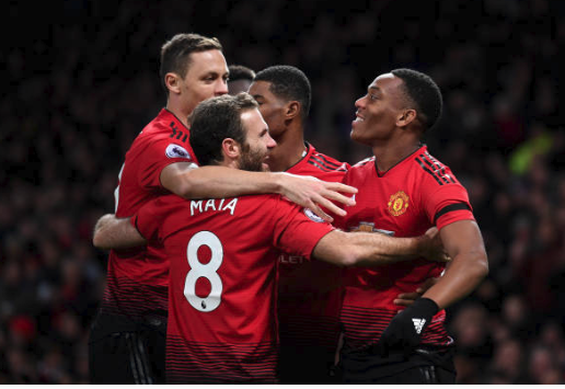 Hasil Liga Inggris: Manchester United vs Everton 2-1