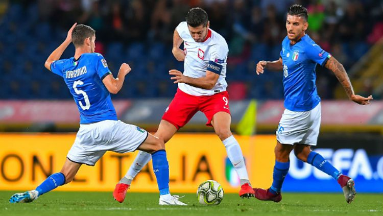 Hasil Pertandingan Timnas Polandia Vs Timnas Italia 0-1