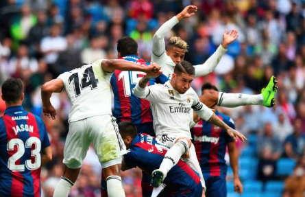Real Madrid Gagal Menaklukkan Levante di Santiago Bernabeu