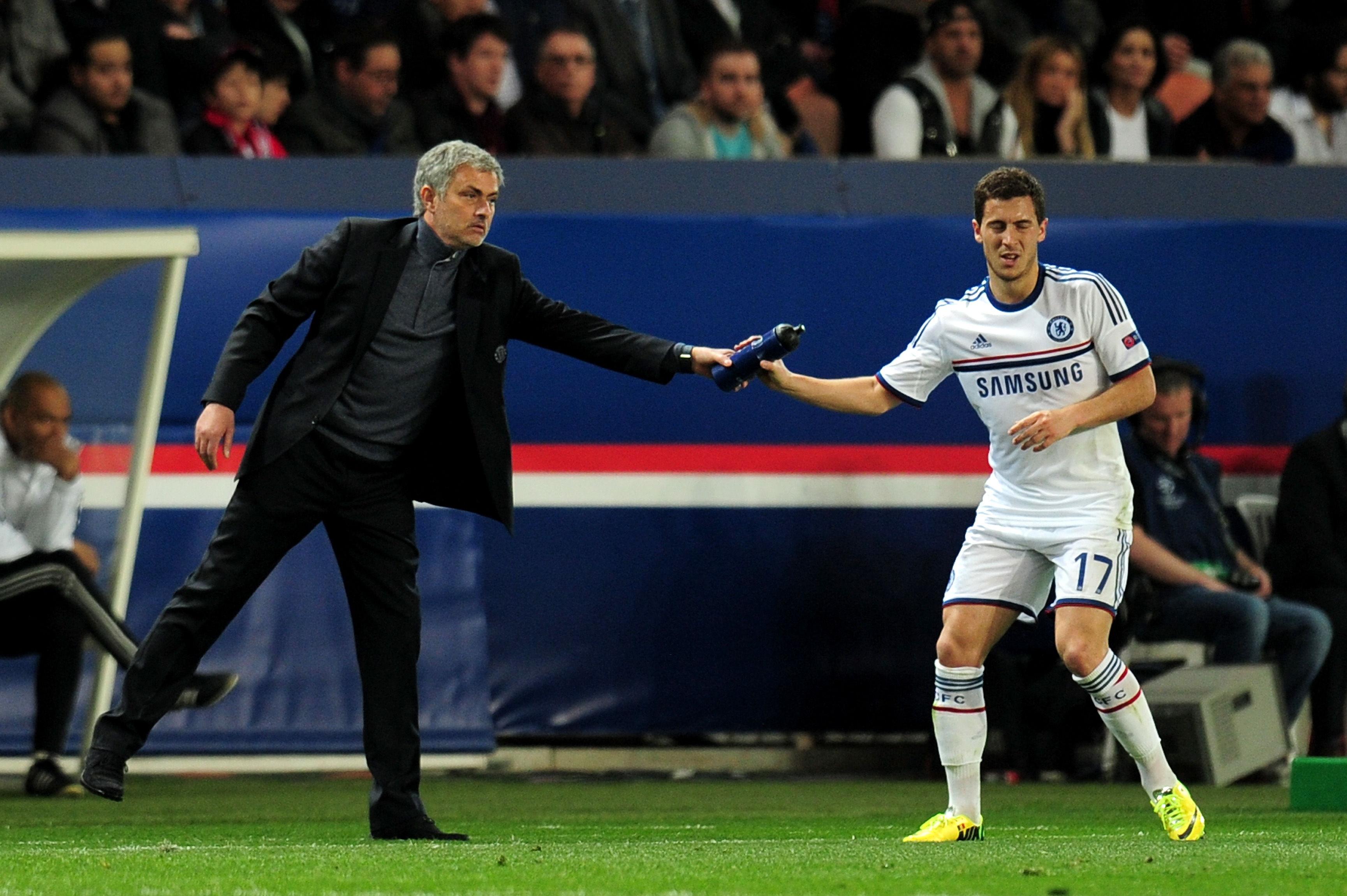 Jose Mourinho Ingin Eden Hazard Gabung MU