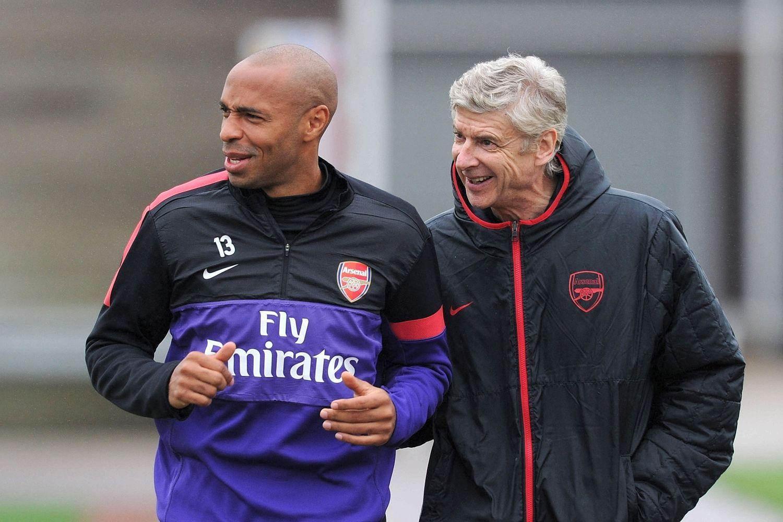 Saran Arsene Wenger Untuk Thierry Henry
