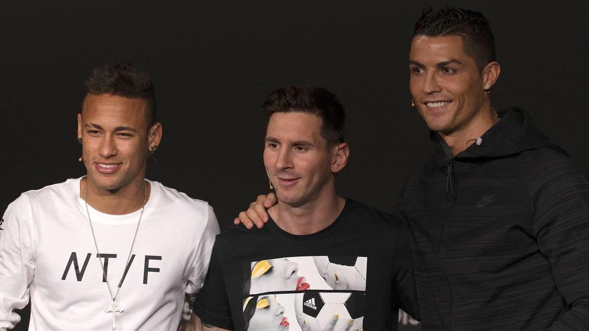 Neymar Sebut Cristiano Ronaldo Monster