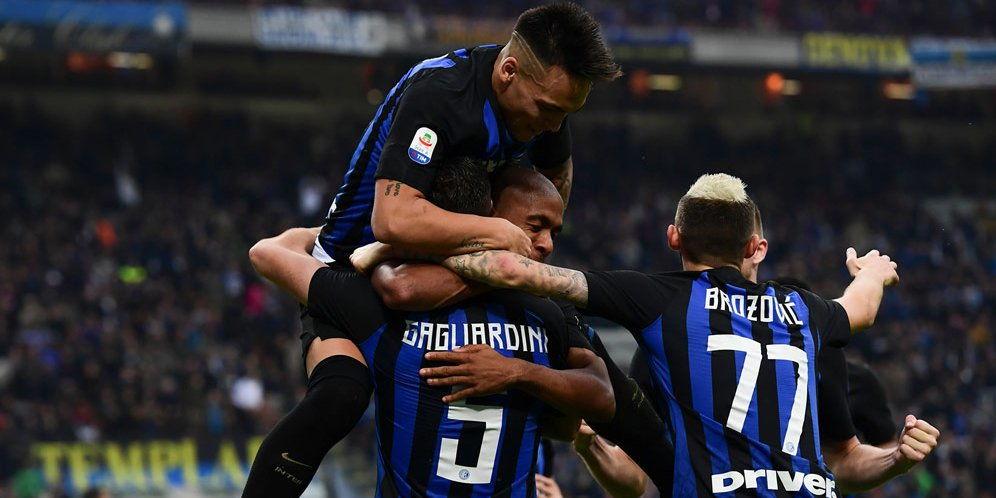 Inter Milan Bekuk Genoa Dengan Skor Telak