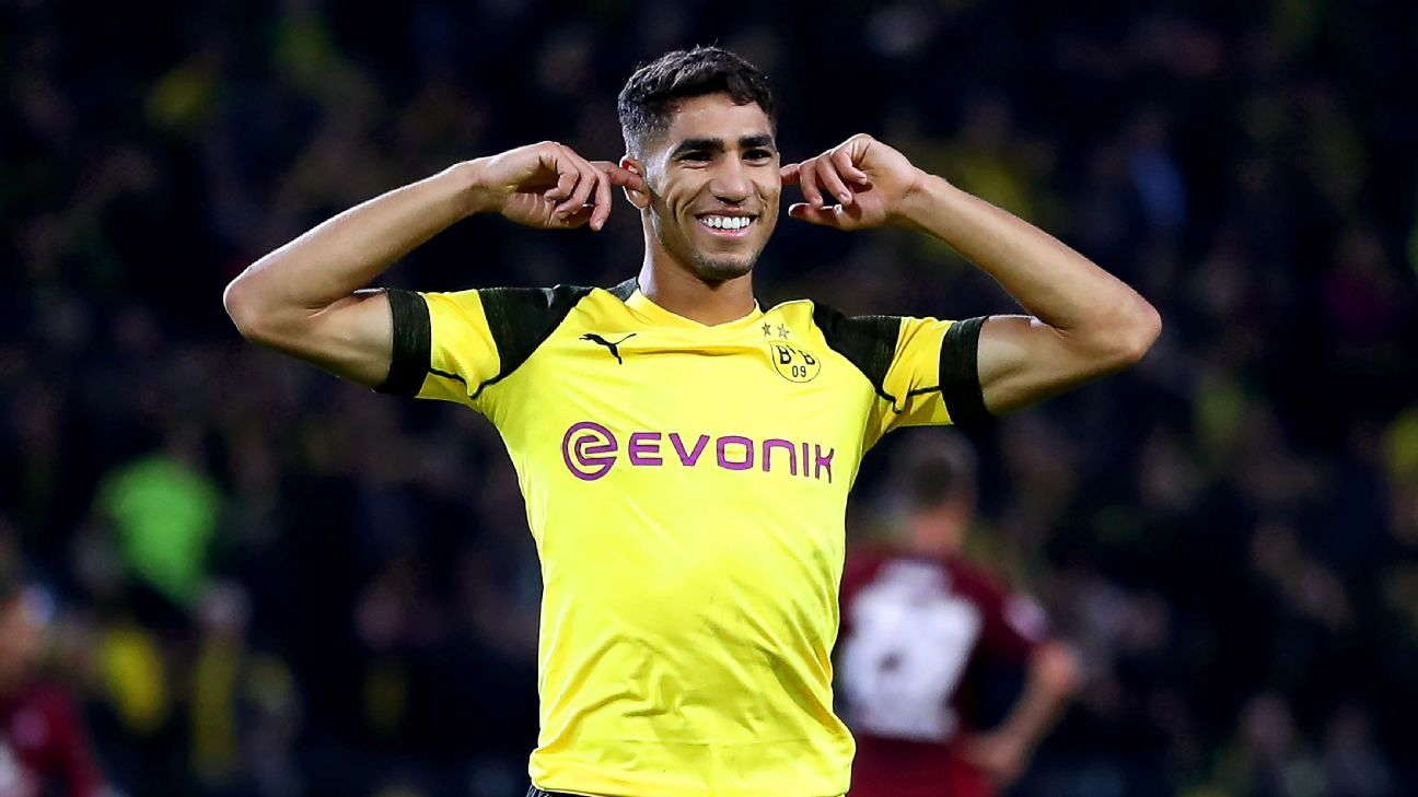 Dortmund Akan Coba Permanenkan Hakimi