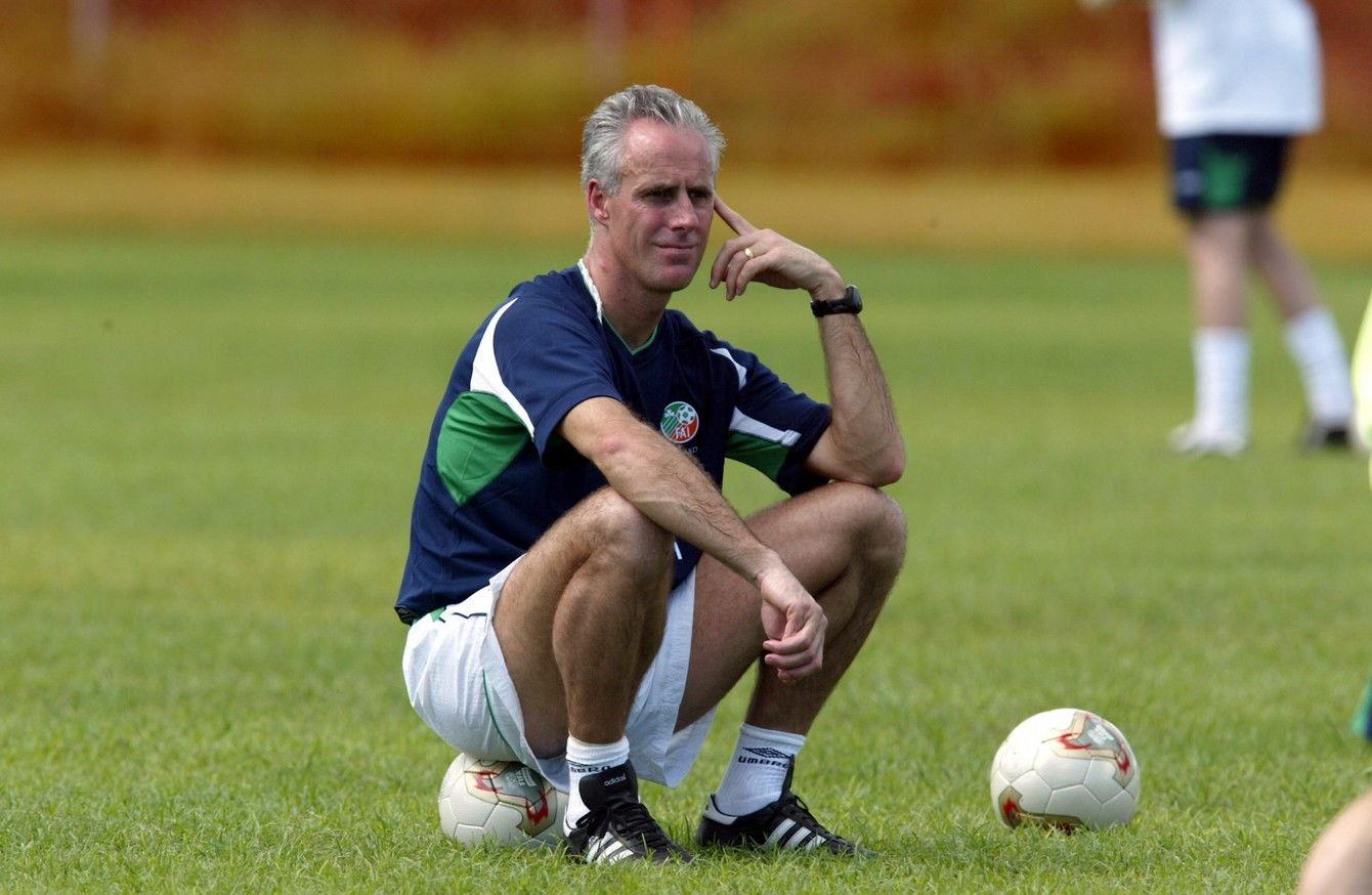 Mick McCarthy Kembali Jalani Perannya Sebagai Manajer