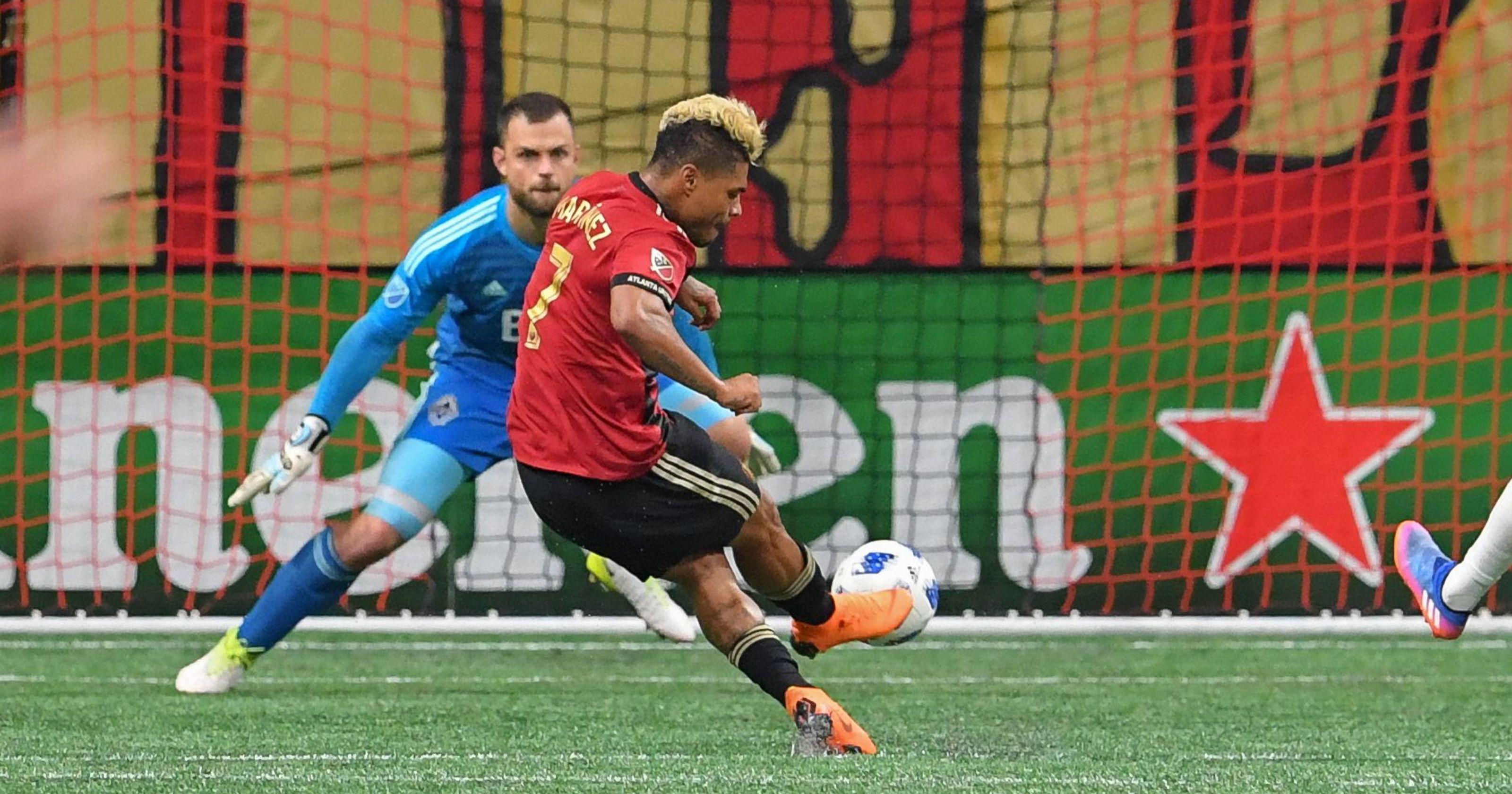Penalty Konyol Josef Martinez Untuk Atlanta United