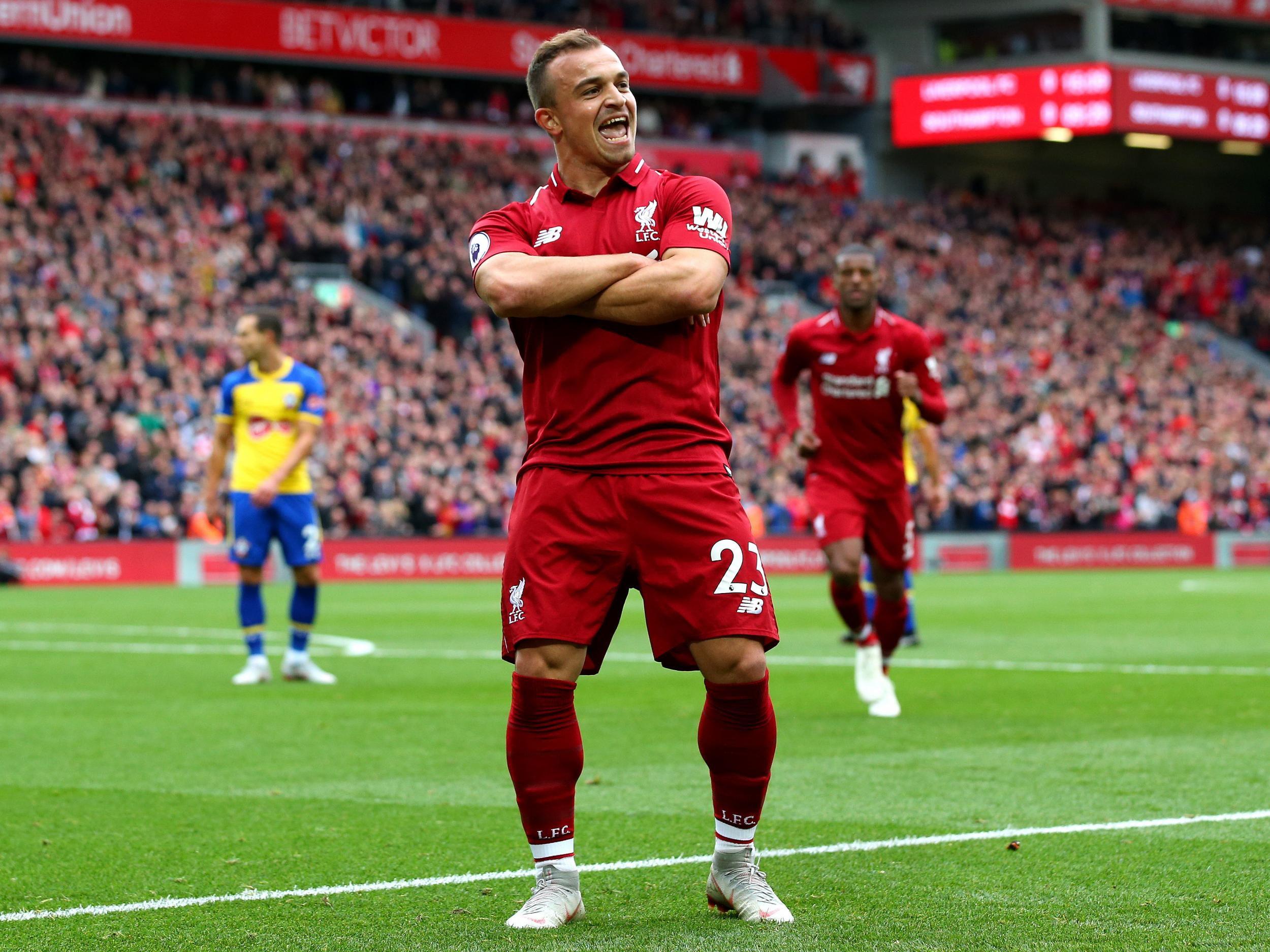 Xherdan Shaqiri Semakin Berpengaruh Untuk Liverpool