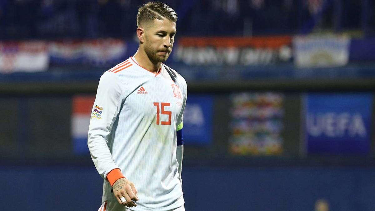 Spanyol Tidak Di Perkuat Sergio Ramos