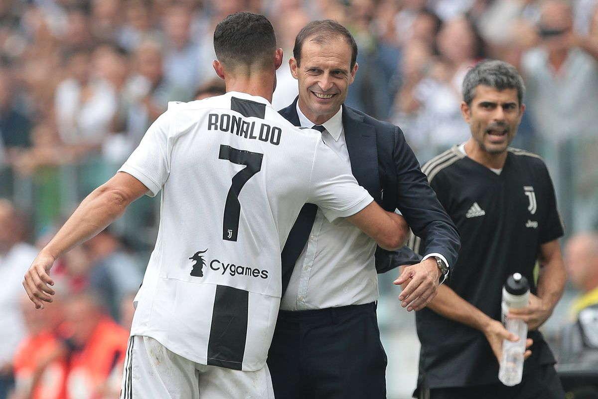 Allegri Setuju Dengan Pernyataan Ronaldo