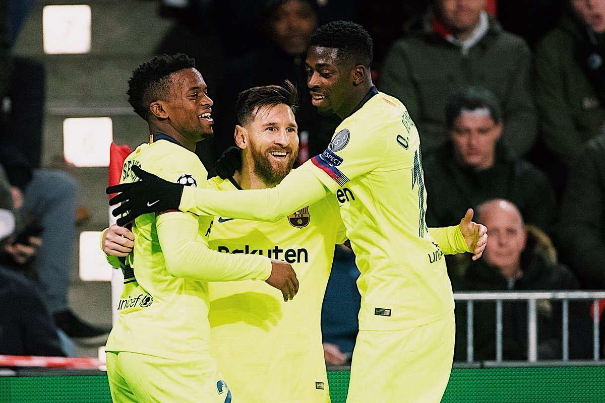 Valverde Terkesan Dengan Messi Dan Dembele