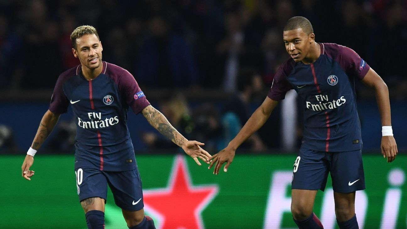 Mbappe Dan Neymar Kemungkinan Akan Hadapi Liverpool