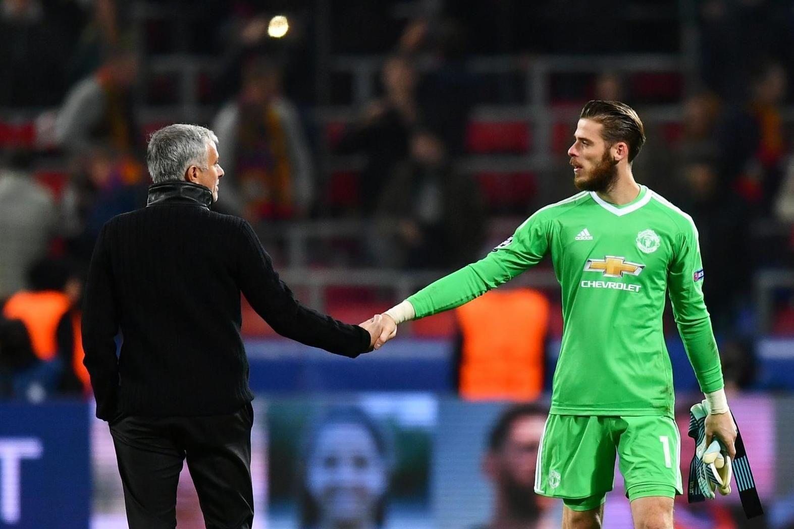 Mourinho : De Gea Mengaku Ingin Tetap Di Man United