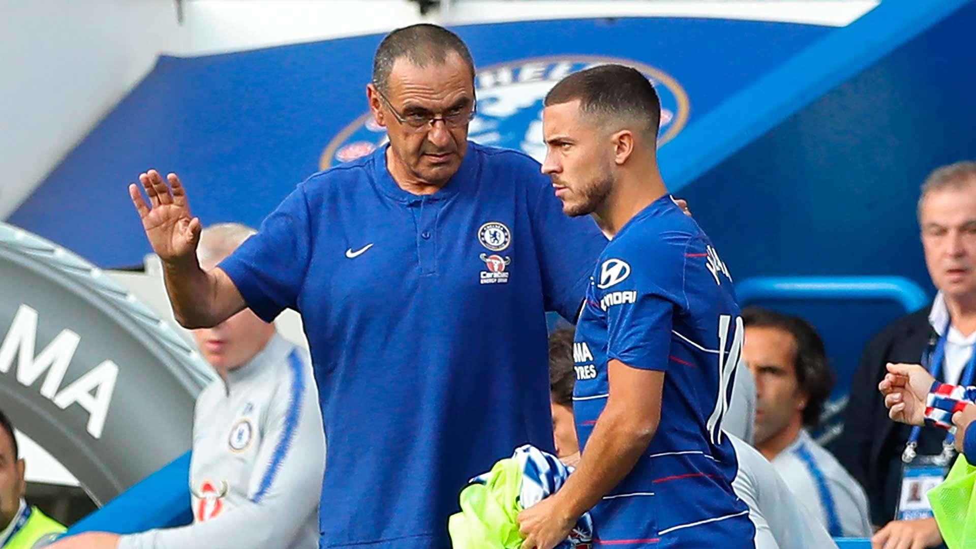 Maurizio Sarri Ingin Hazard Tetap Di Chelsea