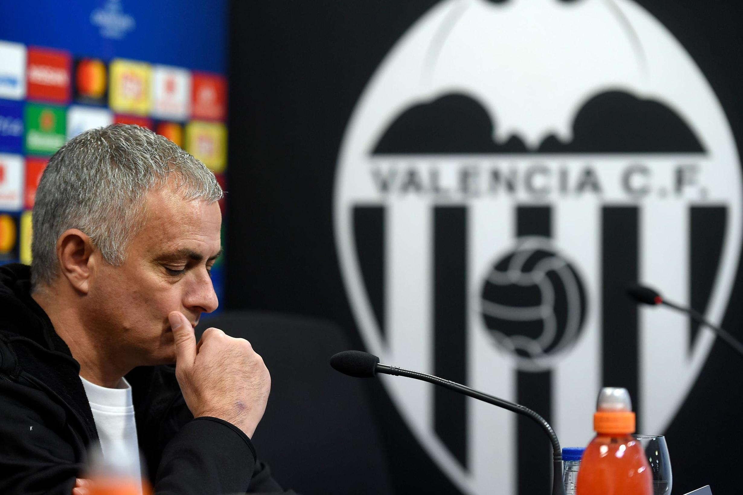 Mourinho Tidak Terkejut United Kalah Dengan Valencia