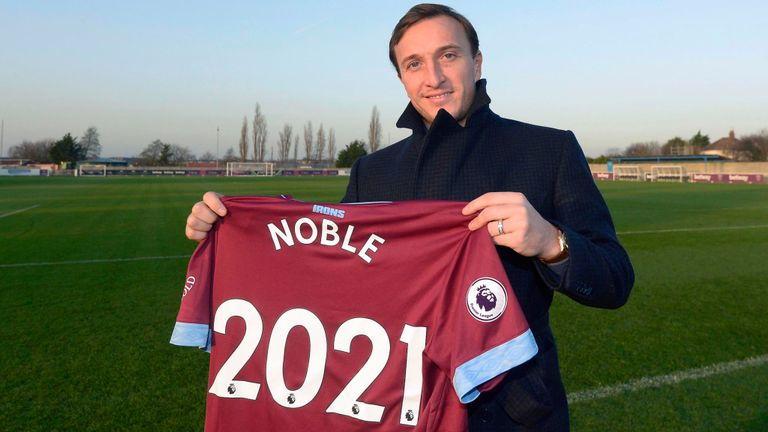 Mark Noble Resmi Perpanjang Kontrak Dengan West Ham