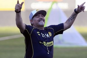 Tim Asuhan Diego Maradona Kalah Dalam Laga Final