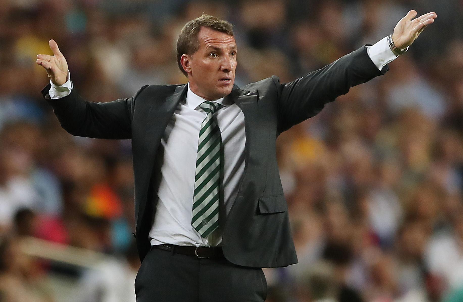 Brendan Rodgers : Dewa Sepak Bola Memiliki Tangan