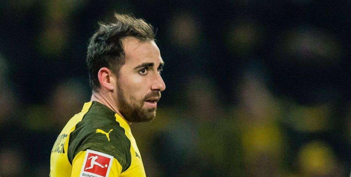 Dortmund : Paco Alcacer Cedera Otot