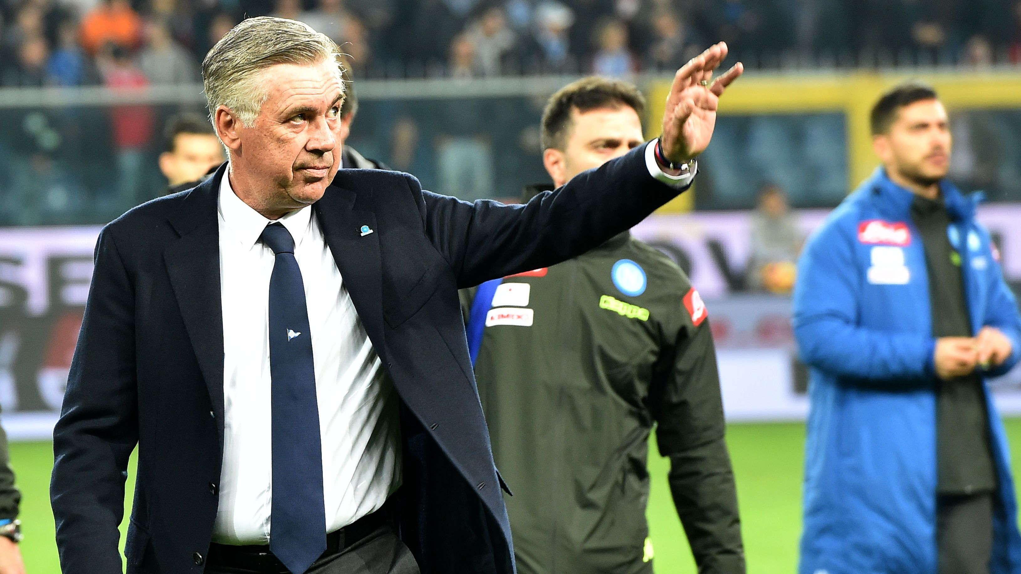 Ancelotti : Menyalip Juve Itu Tujuan Yang Terlalu Jauh
