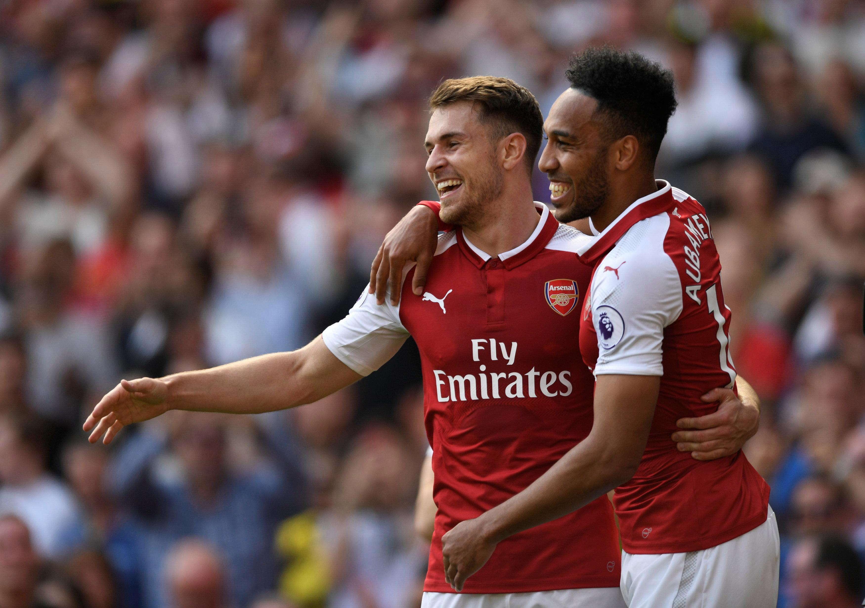 Ramsey : Aubameyang Mengingatkan Saya Dengan Henry
