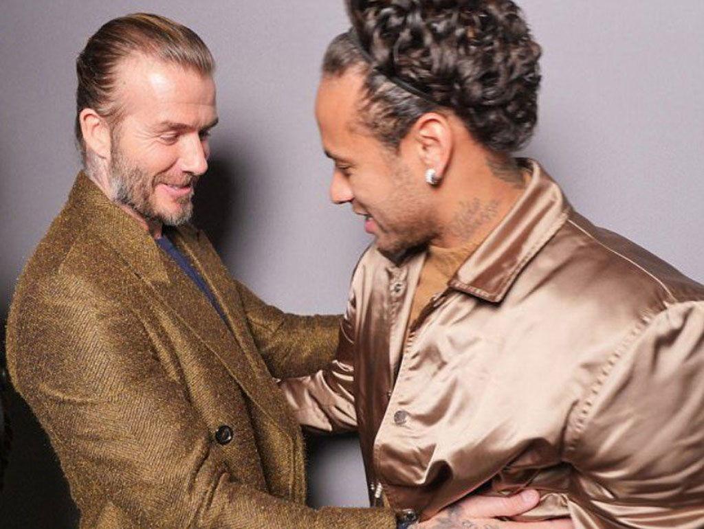 Beckham Membujuk Neymar Untuk Bergabung Ke Klubnya