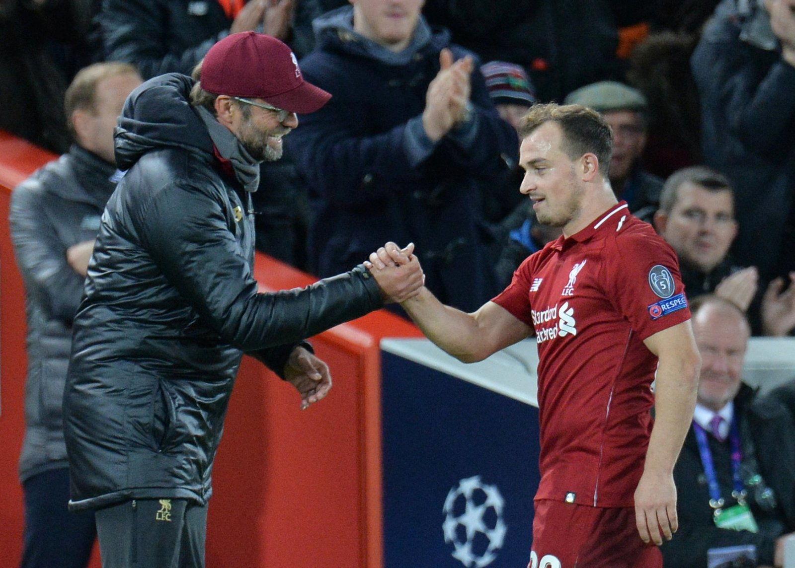 Shaqiri Percaya Liverpool Akan Maju Bersama Klopp