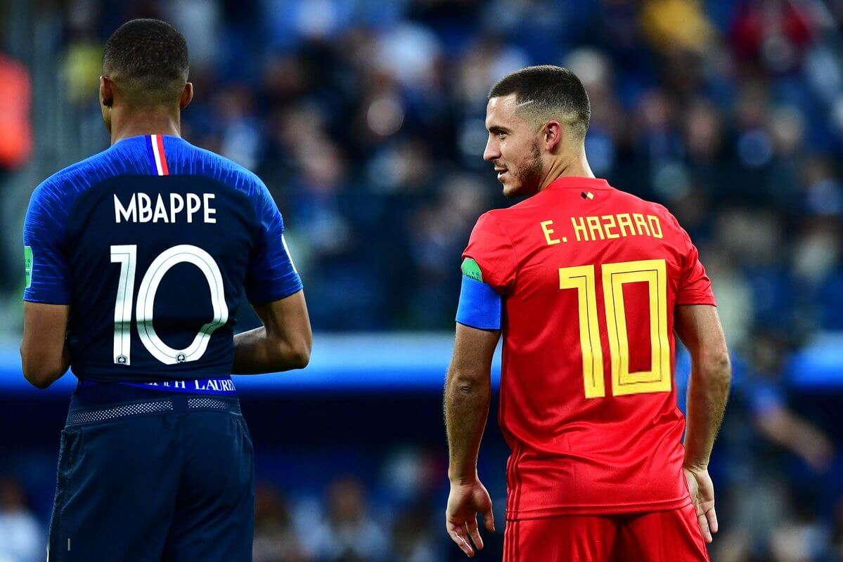 Mbappe : Hazard Pemain Terbaik Yang Saya Hadapi