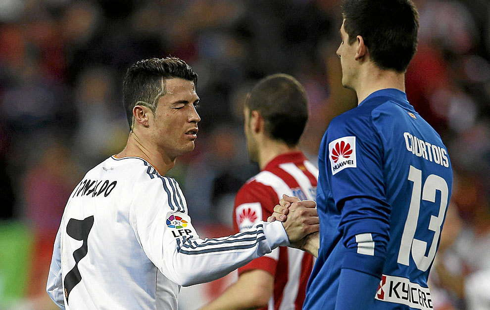 Courtois : Cristiano Ronaldo Tidak Tergantikan