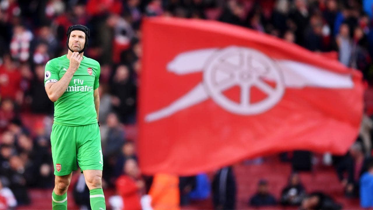 Emery Tidak Yakin Dengan Masa Depan Cech di Arsenal