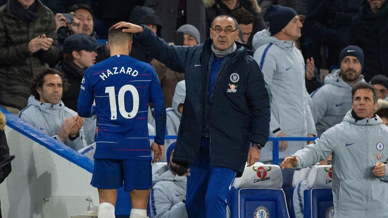 Gianfranco Zola : Hazard dan Sarri Baik-Baik Saja