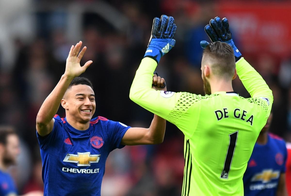 Lingard : Manchester United Harus Pertahankan De Gea