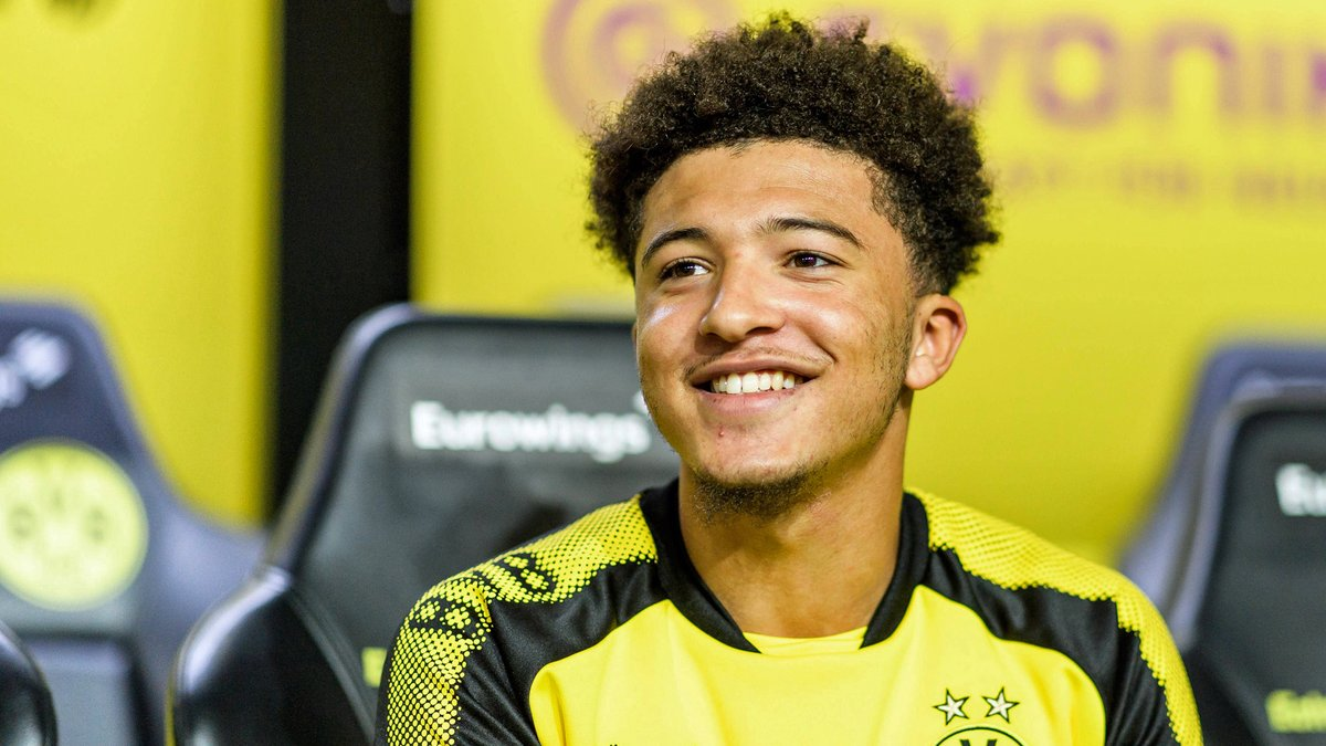 Jadon Sancho : Saya Senang di Borussia Dortmund
