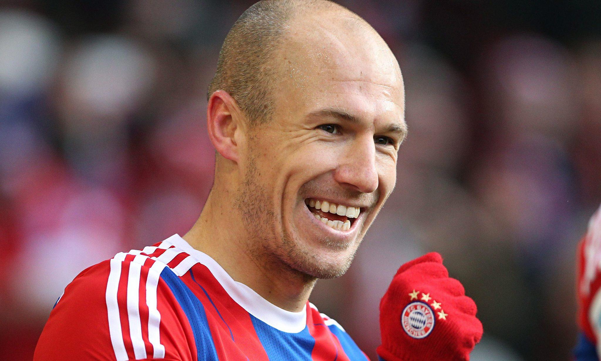 Arjen Robben Bangga Diincar Inter Milan