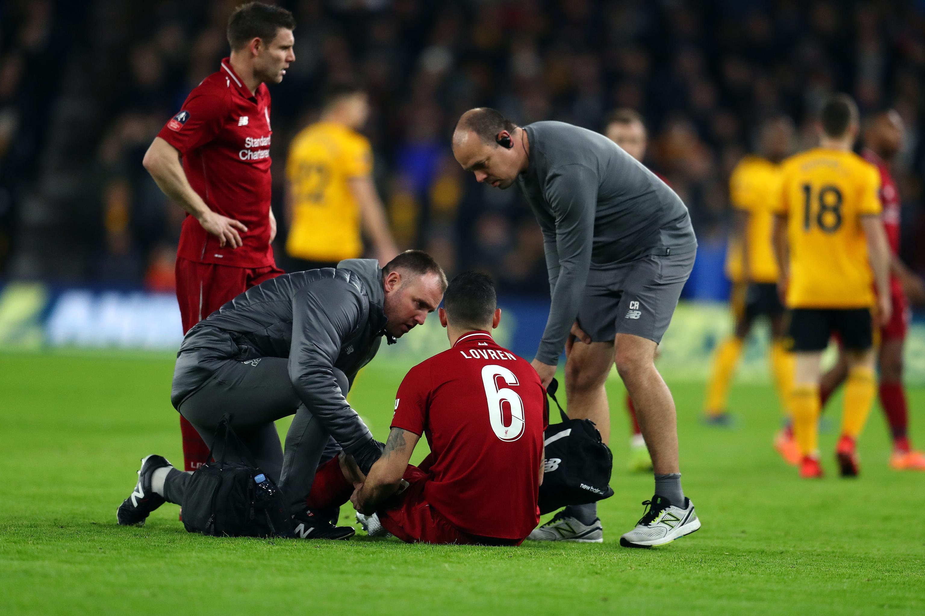 Liverpool Tak Diperkuat Dejan Lovren Saat Hadapi Brighton