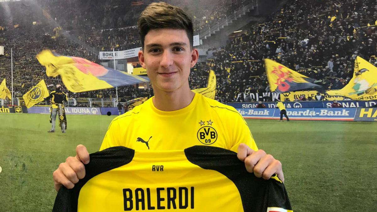 Dortmund Datangkan Leonardo Balerdi Dari Boca