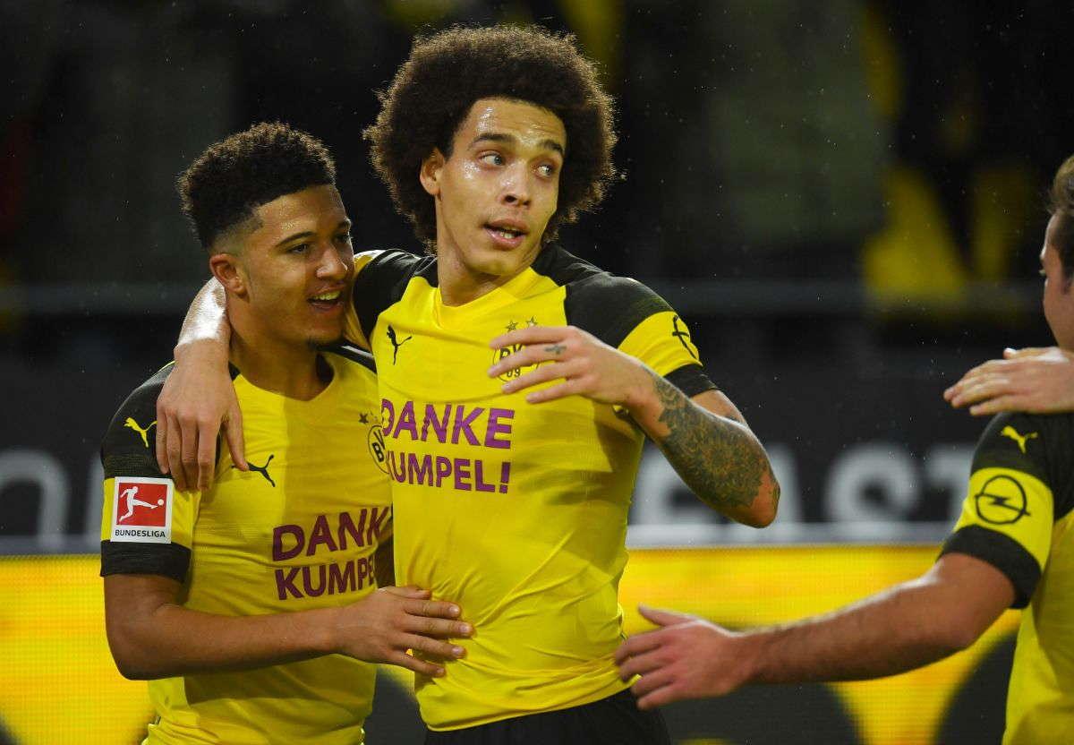 Axel Witsel : Dortmund Harus Tetap Fokus