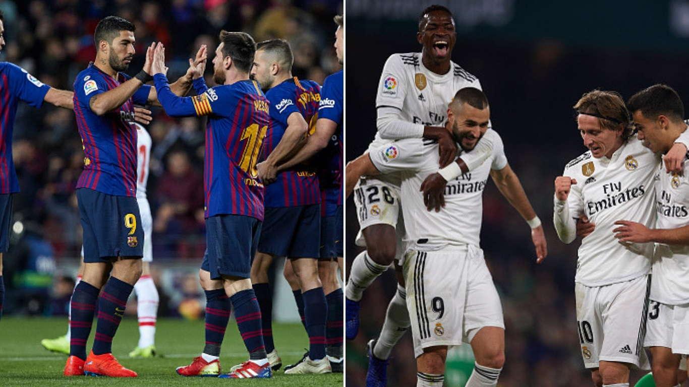 Real Madrid VS Barcelona Akan Bertemu Pada Maret
