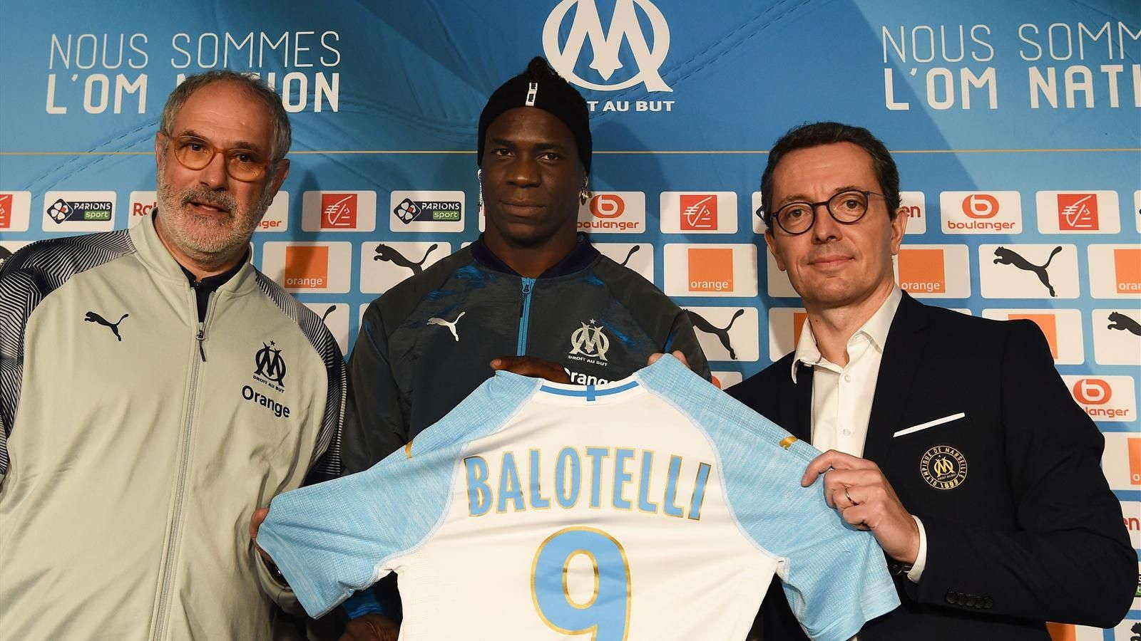 Balotelli : Saya Tahu Akan Bermain Di Marseille