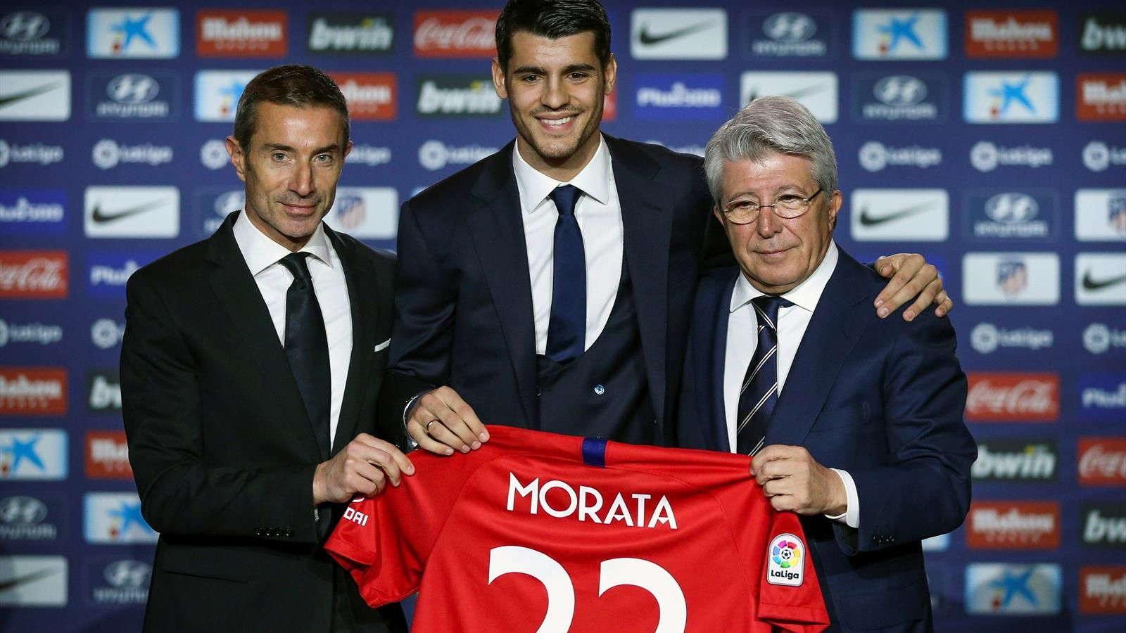 Alvaro Morata Senang Gabung Atletico Madrid