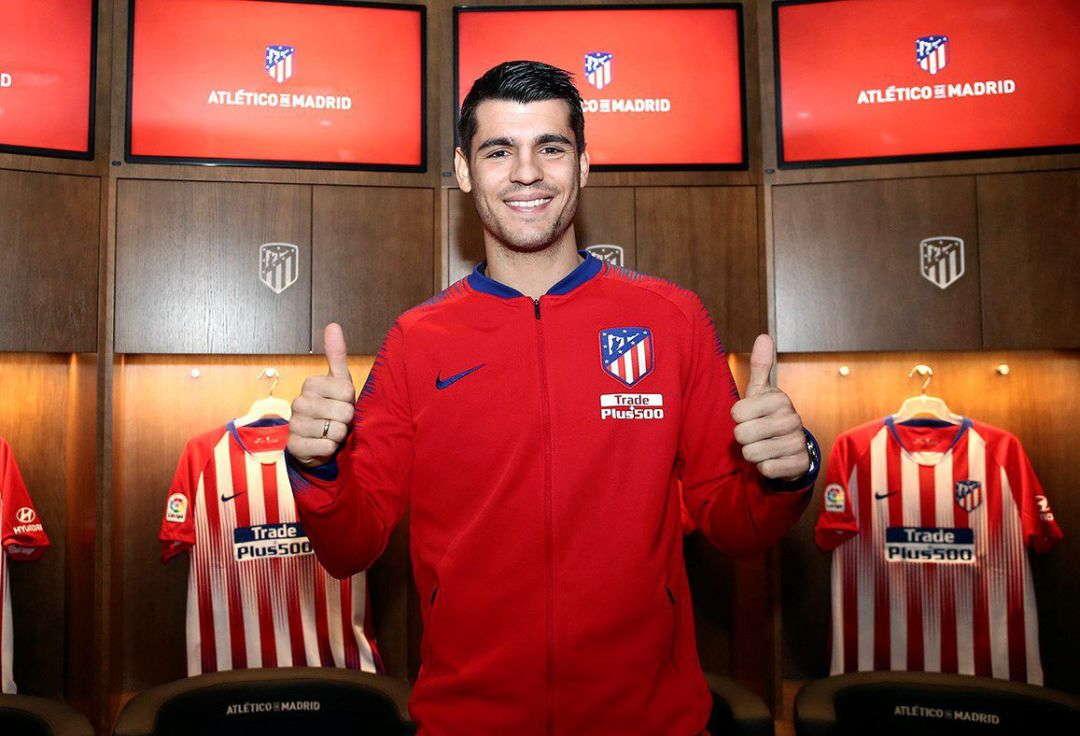 Morata : Saya Selalu Ingin Bermain Di Atletico