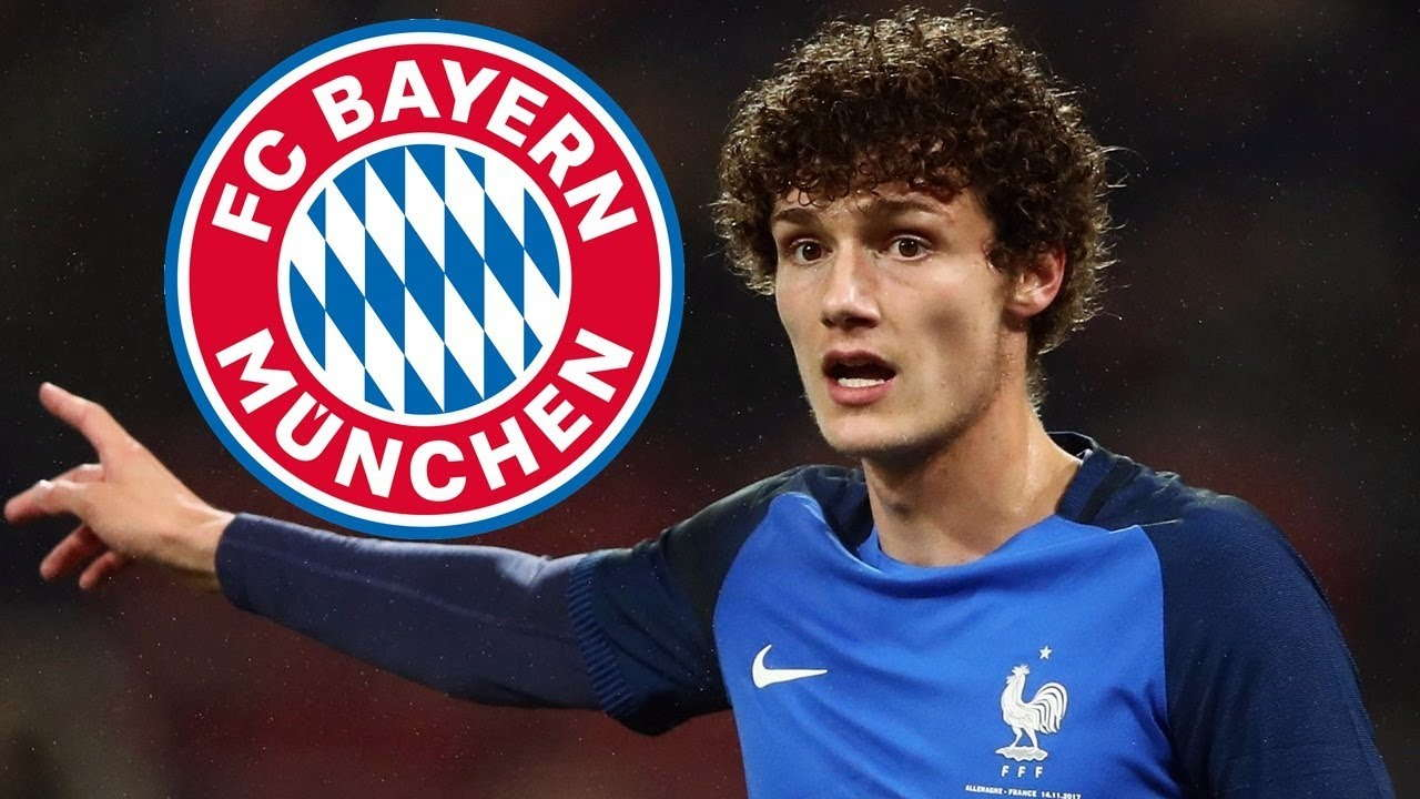 Bayern Munich Menandatangani Benjamin Pavard