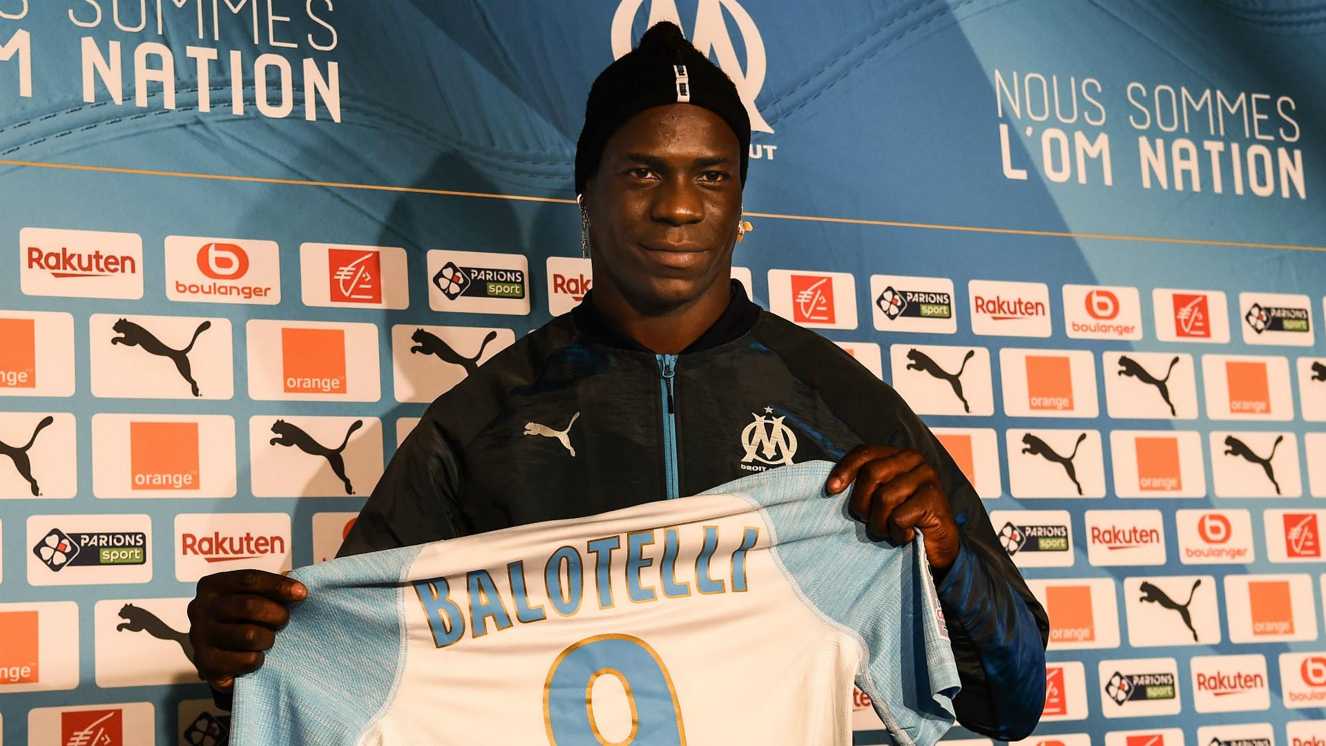 Mario Balotelli Resmi Bergabung Dengan Marseille