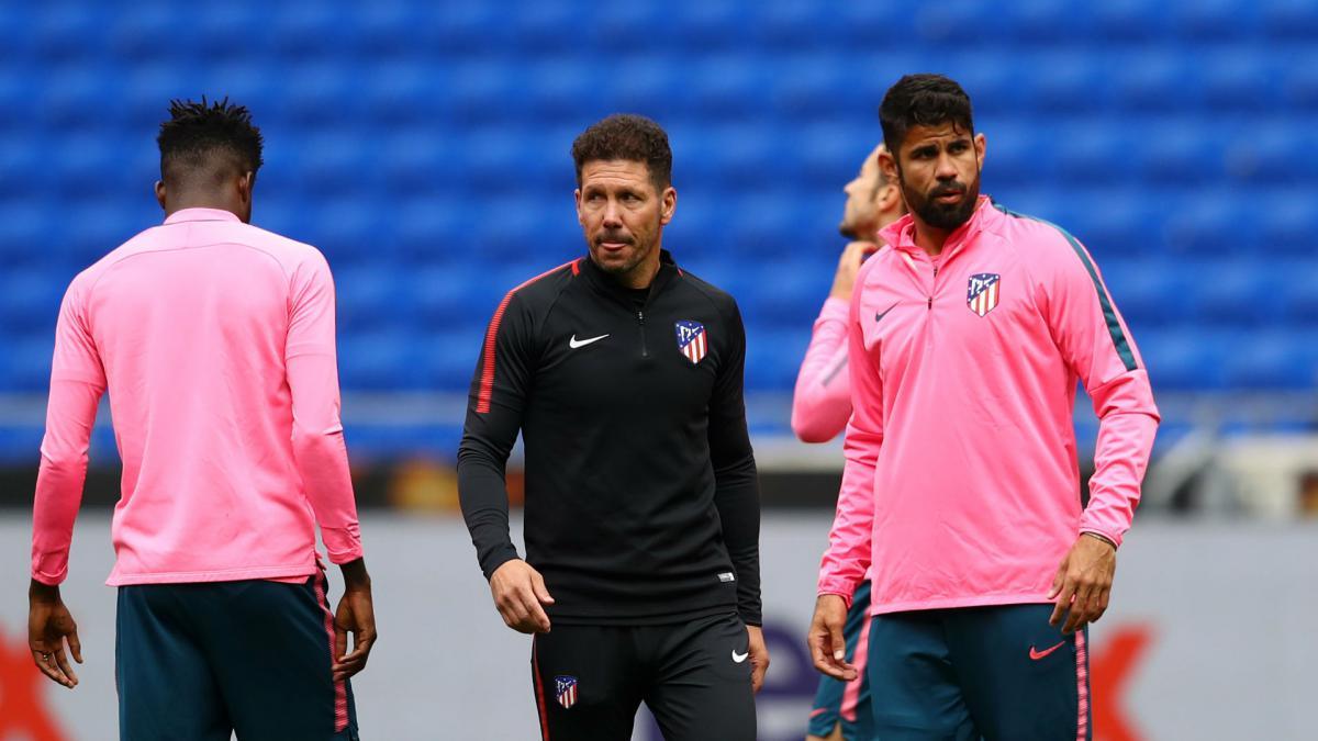 Simeone : Diego Costa Tidak Fit