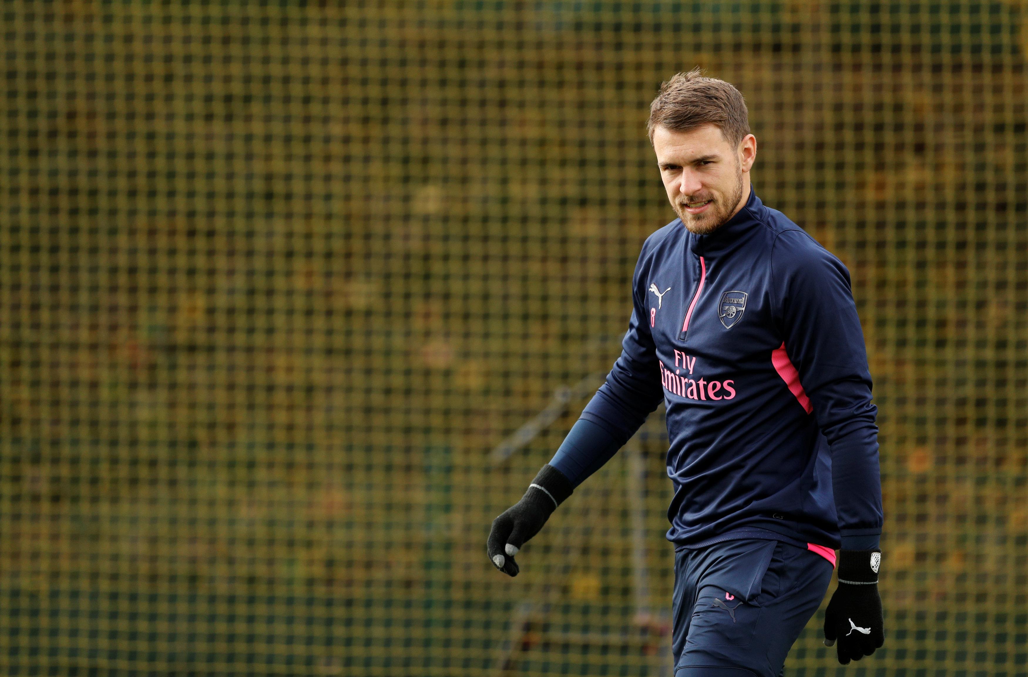 Ramsey Kembali Berlatih Penuh Bersama Arsenal