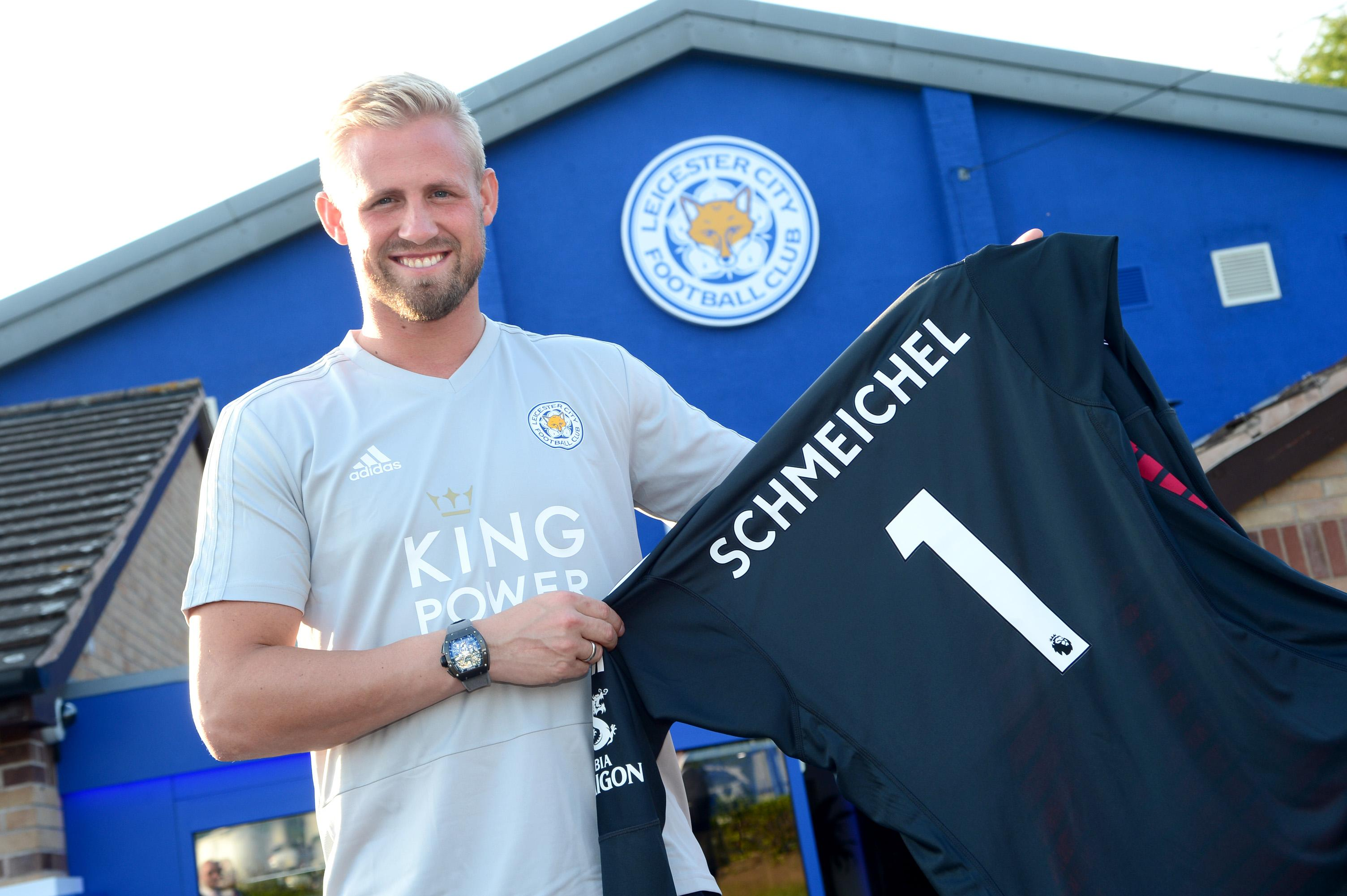 Puel : Schmeichel Senang di Leicester