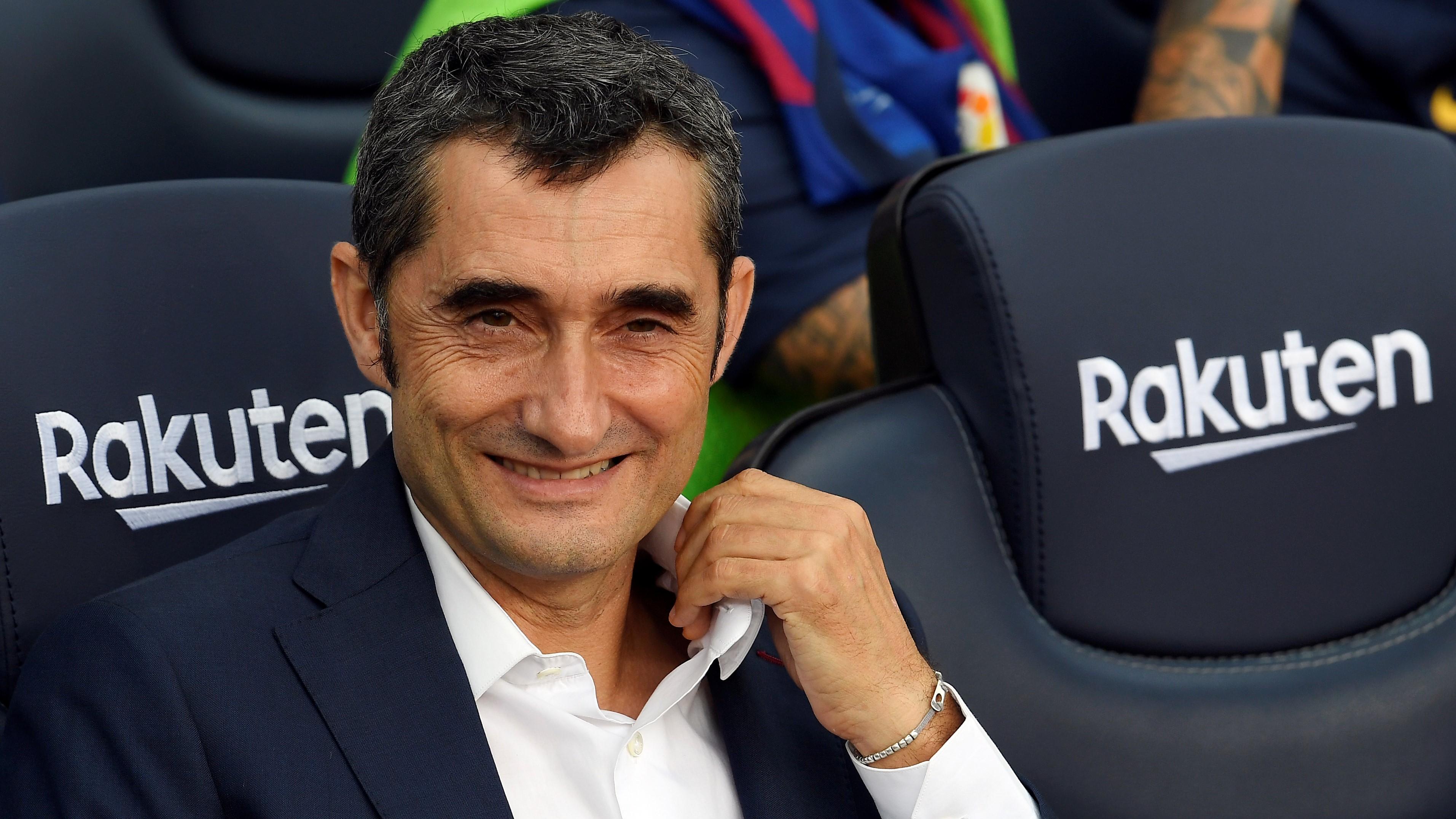 Ernesto Valverde Perpanjang Kontrak di Barcelona