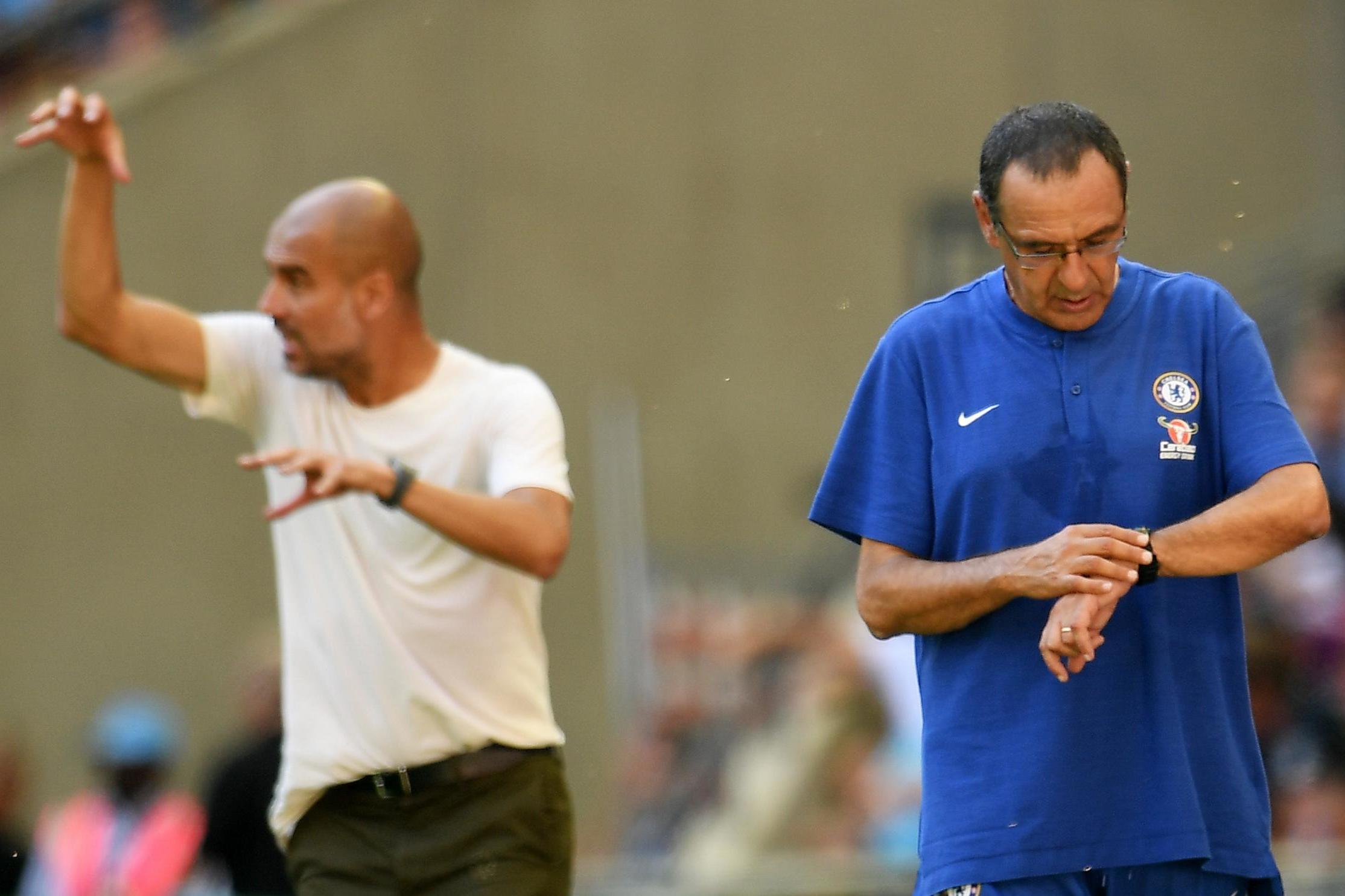 Guardiola Bela Taktik Maurizio Sarri